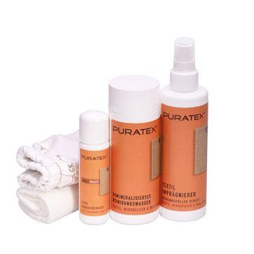 PURATEX Textil-Pflegeset - Servicegarantie Erstset Fleckschutz