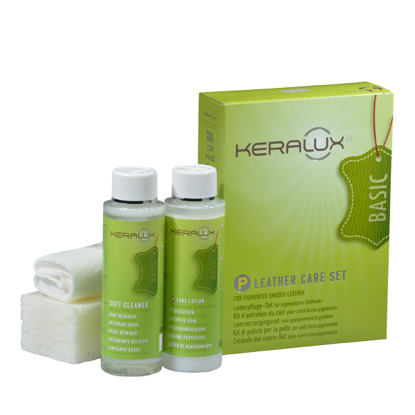 KERALUX® Leather Care Set P - service warranty first kit Arcolife
