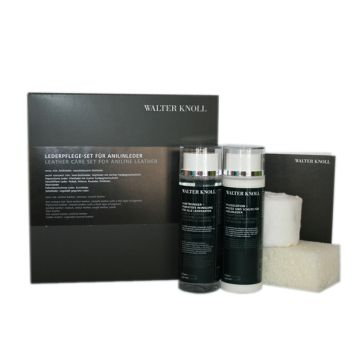 Walter Knoll leather care set for aniline leather