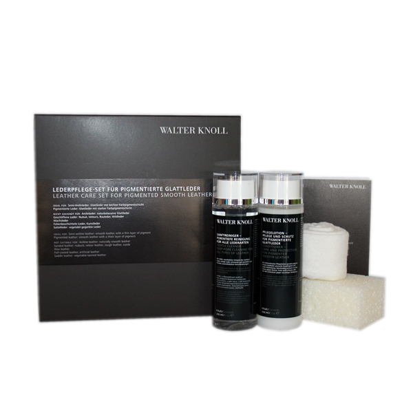 Walter Knoll leather care set for pigmented leather