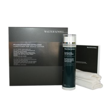 Walter Knoll leather care set for saddle leather