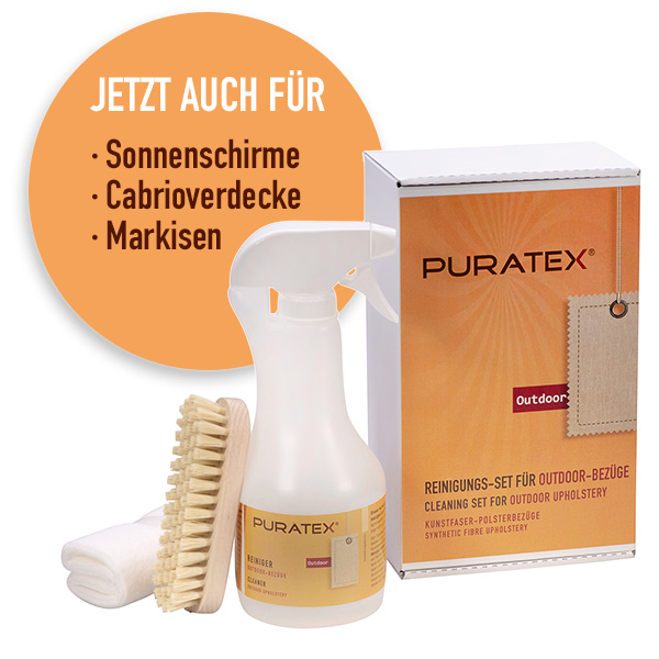 PURATEX® Cleaning Set for outdoor upholstery