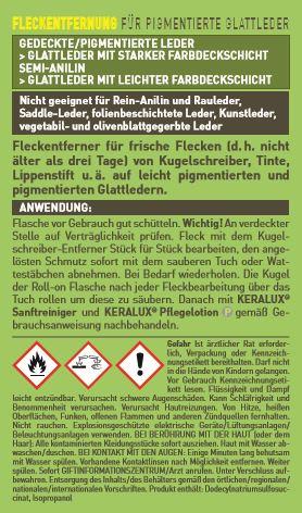 KERALUX® Kugelschreiber-Entferner I Plus 2