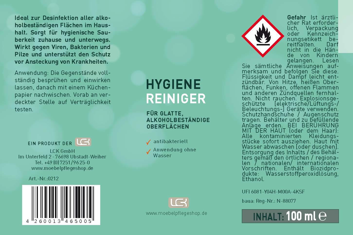Hygiene-Reiniger > antibakteriell 2