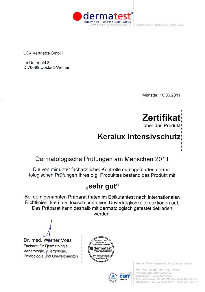 KERALUX® Intensivschutz P 2