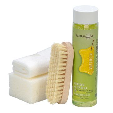 KERALUX® Reinigungs-Set Aktiv Plus P